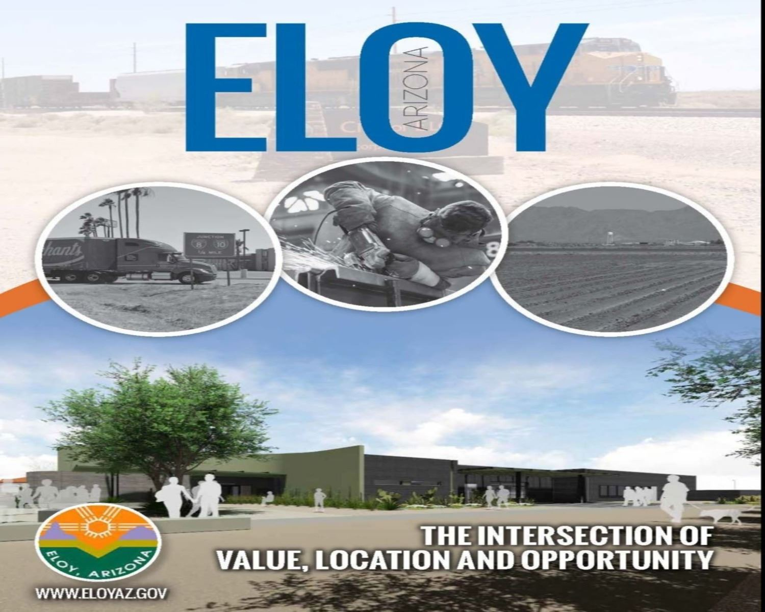Economic Development Brochure - Front Page